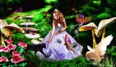 Lady in fairytale land by Alveregn