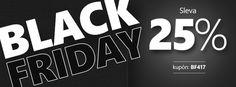 ❗Black Friday = 25% slevy❗