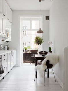 Ultra white kitchen - via cocolapinedesign.com