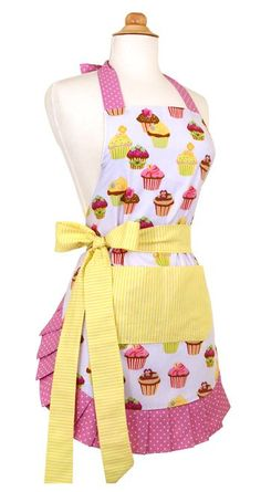 Flirty Aprons.com - Frosted Cupcake Apron