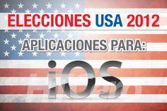 Las elecciones supuso el desarrollo y uso de aplicaciones en los sistemas móviles. Vemos la imagen para iOS.