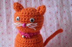 Super simpel patroon (inclusief tutorial met foto's) van een kat/poes. Geschikt voor kinderen en beginnende hakers.