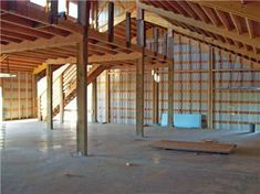 Pole Barn Kits Provide Plenty Of Options To Consumers Pole Barn House Plans, Pole Barn Homes, Barn Plans, Barn Garage, Pole Barn Living Quarters, Shop With Living Quarters, Metal Building Homes, Metal Homes, Building A House