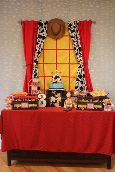 "Photo 1 of 23: Toy Story / Birthday ""Nathan's Toy Story 3rd Birthday!"""