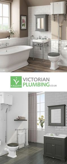 Traditional bathroom 409686897343059497 - Create a stunning traditionally styled bathroom with the exclusive Downton Abbey bathroom collection from Victorian Plumbing. Downton Abbey, Bad Inspiration, Bathroom Inspiration, Cottage Shabby Chic, Traditional Toilets, Traditional Bathroom Sinks, Traditional Decor, Bad Styling, Vintage Bathrooms