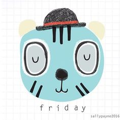 #fridayface  #Friday #faces #illustrator #characters #childrensillustration