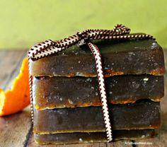 Orange Clove Gardener Soap All Natural Bars.