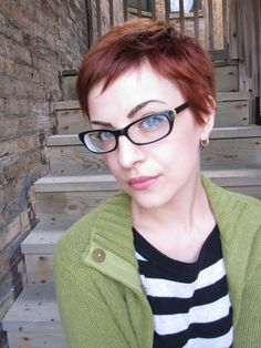 old #haircut #pixie #red #hairpartychicago