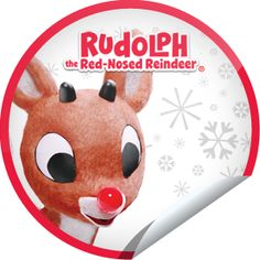 Rudolph the Red-Nosed Reindeer Sticker | GetGlue