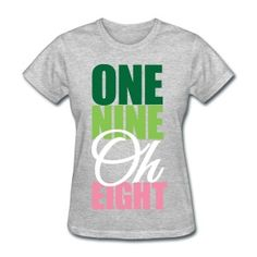 The return of the One Nine Oh Eight shirt!