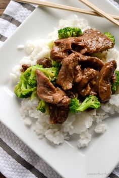 #YUM! Slow Cooker Beef and Broccoli  Via Ronda Tatum