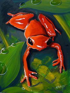 La grenouille rouge