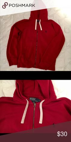Men's knit zip-up Lightly worn but taken care of. Very comfortable! Polo by Ralph Lauren Jackets & Coats