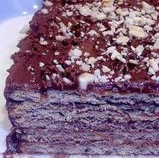 Marquesa de chocolate.