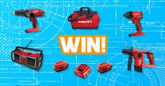 Enter to WIN a Hilti Hammer combo! Valued at $1,675!