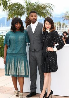 "Cannes 2013: Cast of ""Fruitvale Station' Tadashi Shoji, Octavia Spencer, Kids Book Series, Michael B Jordan, Bridesmaid Dresses, Wedding Dresses, Cannes Film Festival, American Actress, Movie Tv"