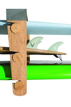 One Rack-System for ALL your Boards: Get your Boards Organized! The interchangeable rolling dowels allows you to easily slide… Surfboard Storage, Surfboard Rack, Kayak Storage, Garage Storage, Ceiling Storage Rack, Rolling Rack, Enclosed Trailers, Racking System, Surfboards