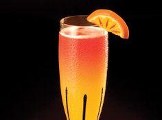 KORBEL Spell      4 oz. KORBEL Brut Rosé     1 oz. Finlandia® Vodka     Cranberry juice     Dash of Chambord® Black Raspberry Liqueur     Orange slice