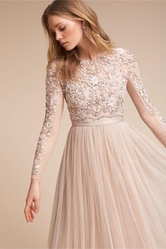 BHLDN Rhapsody Dress in  Bride Wedding Dresses | BHLDN