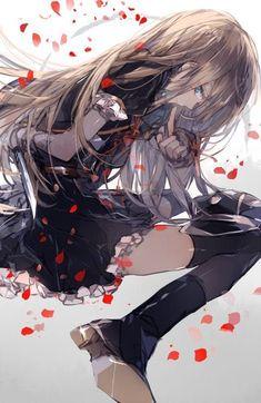 あきみつ on - Boys Love Manga Fans Fille Anime Cool, Art Anime Fille, Anime Art Girl, Character Art, Character Design, Satsuriku No Tenshi, Ecchi, Beautiful Anime Girl, Sad Girl