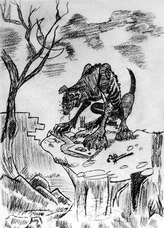 Werewolf Concept Sketch