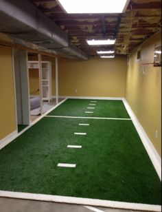 Who cares about the weather outside when you can have agility training inside.  #synlawn