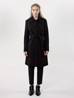 Filippa K AW16 Iza Wool Belt Coat