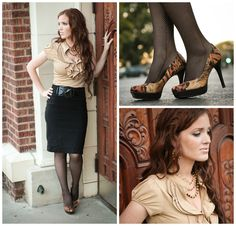 The Freckled Fox : What I Wore // Autumn-time Ruffles