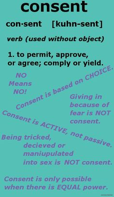 Sexual Activity - What Is Consent?