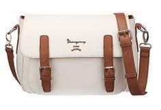 Leather Women Bag Ivory White Navy Blue Mint Green Tote Shoulder Bag Shopper