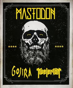 NEWS: The rock/metal band, Mastodon, have announced a U.S. spring headlining tour with Gojira and Kvelertak. You can check out the dates and details at http://digtb.us/MASTODONTOUR