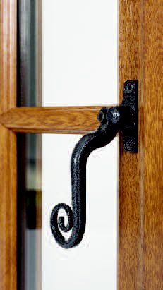 Traditional Monkey Tale handle available with the SafeChoice UPVC double glazed and triple glazed windows. Ideal for those seeking to benefit from modern UPVC but who wish to retain traditional aesthetics and character style. Upvc Windows, Windows And Doors, Window Handles, Door Handles, Window Cost, Cottages Uk, Traditional Windows, Window Glazing, Door Price