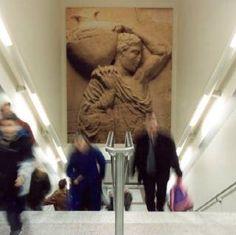 Subway Art at the Athens Metro (Sepolia Station)