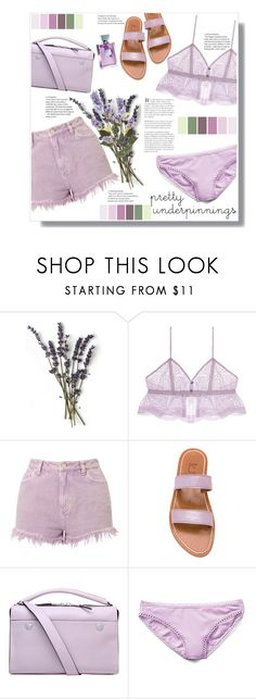 """""""pretty underpinnings"""" by mmk2k ❤ liked on Polyvore featuring Only Hearts, Miss Selfridge, K. Jacques, Kurt Geiger, Gap and prettyunderpinnings"""