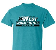 High School Impressions search BSE-016-W; Wolverine High School Baseball T-Shirts- Create your own design for t-shirts, hoodies, sweatshirts. Choose your Text, Ink and Garment Colors.  Visit our other boards for other great designs!