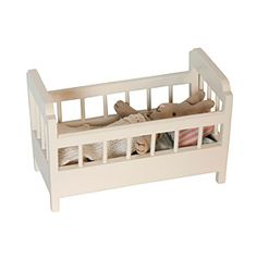cot bed with 3-piece bed set from Pink Olive - $36.00