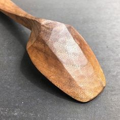 Nice spoon by Wooden Spoon Carving, Carved Spoons, Wood Spoon, Green Woodworking, Woodworking Plans, Wood Sculpture, Abstract Sculpture, Bronze Sculpture, Wooden Spatula