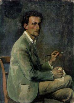 Self-portrait, 1940, Balthus