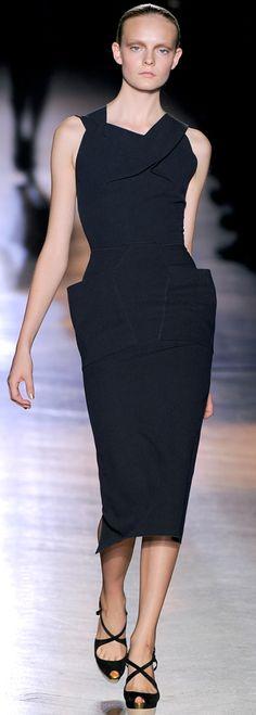 Roland Mouret, spring 2011- the best dress designer ever. This man loves women.
