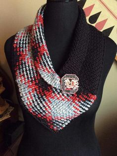 Planned Pooling scarf - picture