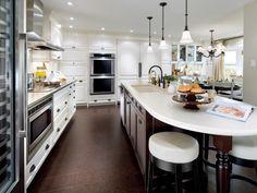 Inviting Kitchen Designs by Candice Olson | Kitchen Ideas & Design with Cabinets, Islands, Backsplashes | HGTV