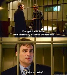 House: You get these from the pharmacy or from Voldemort? Wilson: Voldemort. Why? House M.D. quotes
