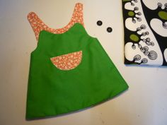 2/3 Vestidet Reversible - Reversible dress - by MonCreacionS