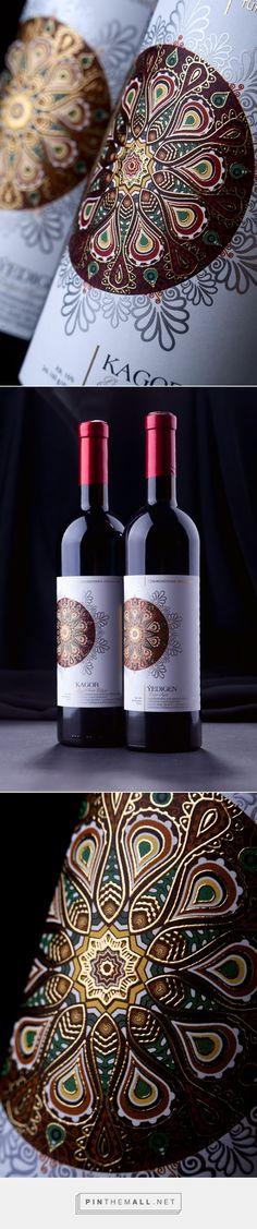 Turkmenistan #Wines #packaging designed by 43'oz - Design Studio - http://www.packagingoftheworld.com/2015/04/turkmenistan-wines.html