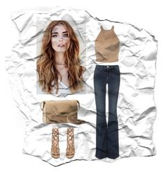 """""""An Old Style"""" by inesfragosa ❤ liked on Polyvore featuring Frame Denim, Gianvito Rossi and UGG Australia"""