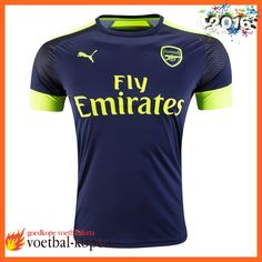 8aa7c4eaf Retro Arsenal 3e Shirt Blauw 2016 2017 Fanshop Arsenal Shirt