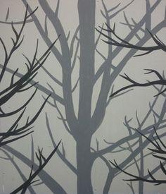 "Custom ""Tree"" Faux Finish. www.interiorstoinspire.com"