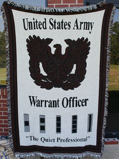 Army Warrant Officer afghan ($45)