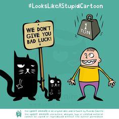 The Upset Animals Cartoons