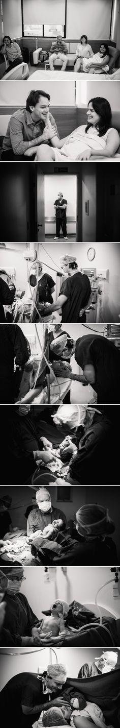 Fotografia de parto no Hospital Genesis por Arthur Rosa. Fotos de parto em Fortaleza.